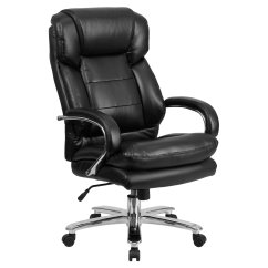 Big And Tall Computer Chair Commercial Dining Chairs Office Flash Furniture Hercules 500 Pound Capacity