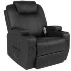 Recliner Massage Chair High Floor Mat Uk Chairs Walmart Com Product Image Best Choice Products Executive Faux Leather Swivel Electric W Remote Control