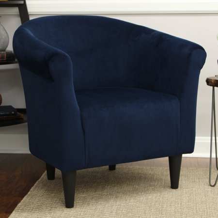 Mainstays Microfiber Bucket Accent Chair Multiple Colors