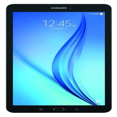 "SAMSUNG Galaxy Tab E 9.6"" 16GB Android 6.0 WiFi Tablet Black - Micro SD Card Slot - SM-T560NZKUXAR"