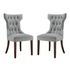 White Tufted Chair Arne Norell Accent Chairs Dorel Living Clairborne Upholestered Dining Set Of 2