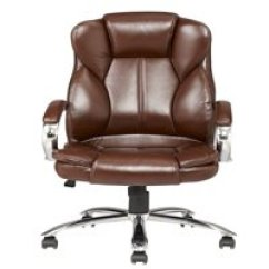 Brown Computer Chair Tommy Bahama Dining Office Chairs Walmart Com Product Image Modern High Back Leather Executive Desk Task W Metal Base