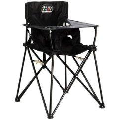 Portable High Chair Walmart Glider Swivel Ciao Baby Black Com