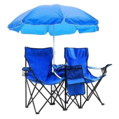 Chair With Canopy Desk Attached Chairs Ktaxon Portable Folding Camping Umbrella Table Cooler Beach Picnic Sun Protection
