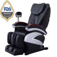 folding chair for massage cushion beach covers chairs walmart com product image bestmassage electric full body shiatsu recliner w heat stretched foot rest