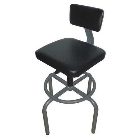 ergonomic chair grainger tiffany blue sashes pneumatic chairs approved task backrest height 26 1 4 to 32