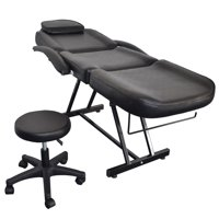 tattooing chairs for sale toddler folding chair massage tables walmart com product image zimtown 73 adjustable tattoo with hydraulic stool black table bed
