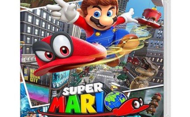 Nintendo Super Mario Odyssey Nintendo Switch Walmart