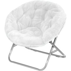 Saucer Chair Replacement Cover Outdoor Lounge Cushions Lowes Mainstays Faux Fur Multiple Colors Walmart Com
