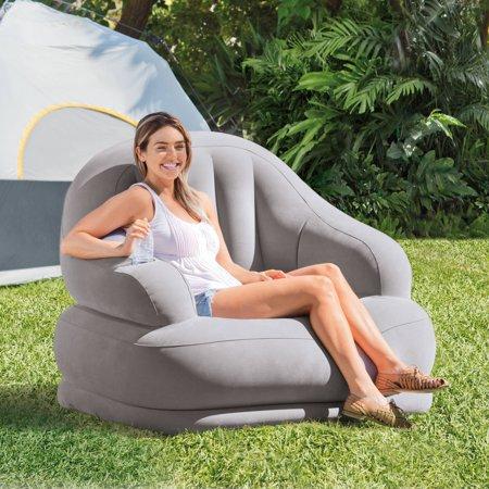 inflatable camping chair cover hire midlands intex 48 x 44 39 walmart com