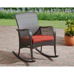 Hard Plastic Outdoor Rocking Chairs Chair Gym Twister Video Walmart Com Product Image Mainstays Cambridge Park Wicker