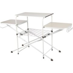 Kitchen Tabletops Amazon Appliances Ozark Trail Camp Cooking Stand With Three Table Tops Walmart Com