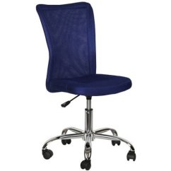 Desk Chair Blue Covers Stretch Mainstays Adjustable Mesh Multiple Colors Walmart Com