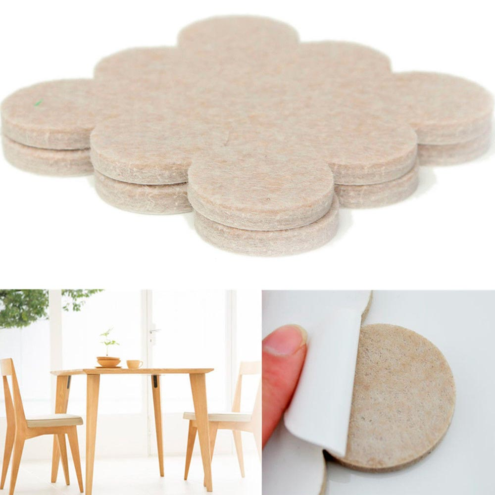 chair felt pads hanging sims 4 furniture 36pcs self adhesive floor scratch protector wall table beige