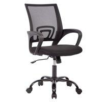 cheap desk chairs chair rail profiles office walmart com product image mid back mesh ergonomic computer black