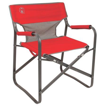 coleman portable deck chair oversized round outpost breeze folding walmart com