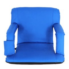 Stadium Chair For Bleachers Small Office Chairs Bleacher Seats Zeny Or Benches 5 Reclining Positions Blue