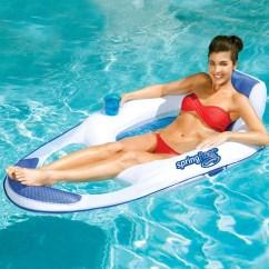 Pool Floating Lounge Chairs Jimmy Buffett Margaritaville Adirondack Swimways Spring Float Mesh Recliner Swimming Water Chair
