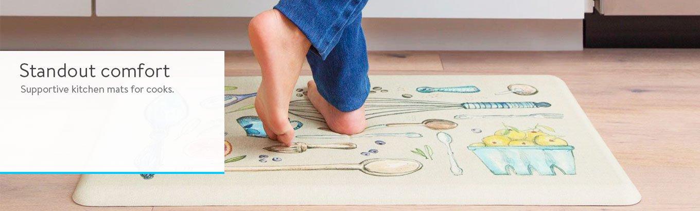 kitchen mats outdoor rugs walmart com anti fatigue gelpro