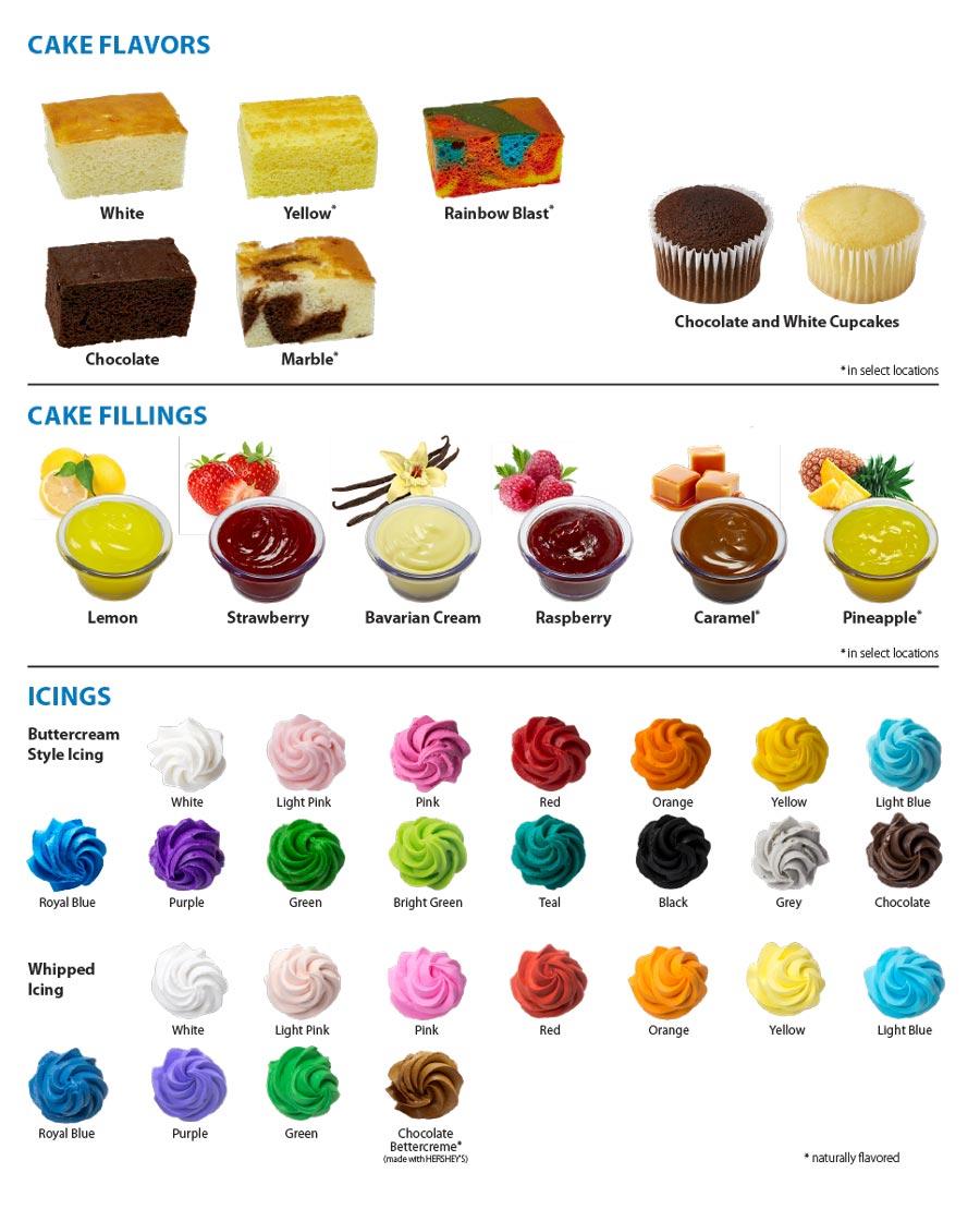 hight resolution of cake options