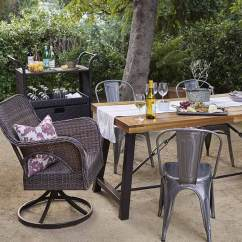 Patio Chairs For Cheap Hanging Chair Boho Furniture Walmart Com Give Your A Farmhouse Feel