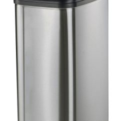Kitchen Waste Disposal Facelift Before And After Nine Stars Motion Sensor Slim Touchless 13 2 Gallon Trash Can Walmart Canada