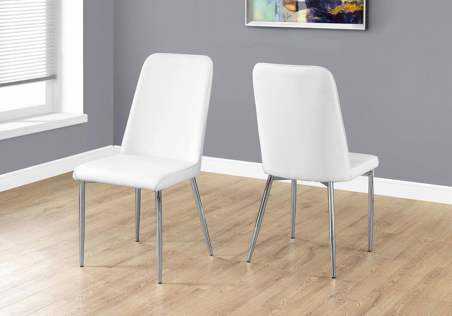 White Dining Chairs Monarch Specialties White Dining Chairs