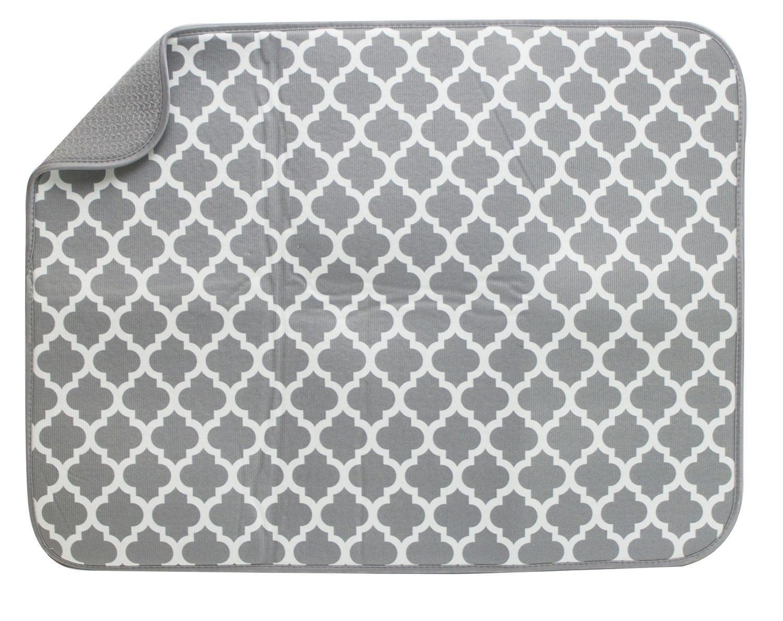tapis pour sechage de vaisselle d schroeder tremayne tg gris