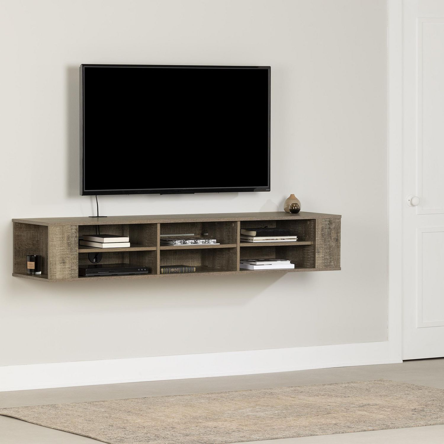 living room media furniture red cream and black ideas south shore city life wall mounted console walmart canada