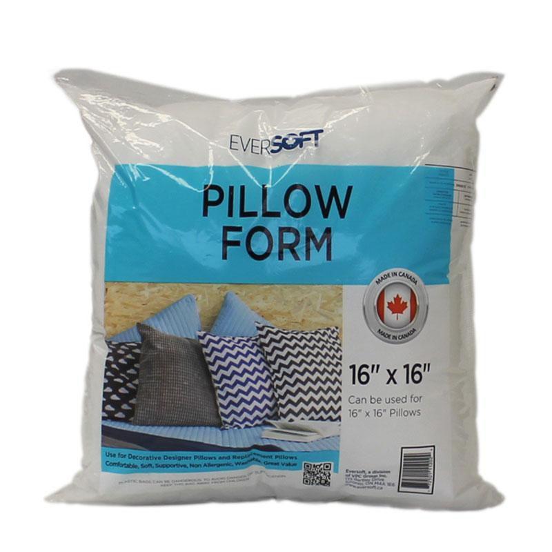 eversoft 16 pillow form