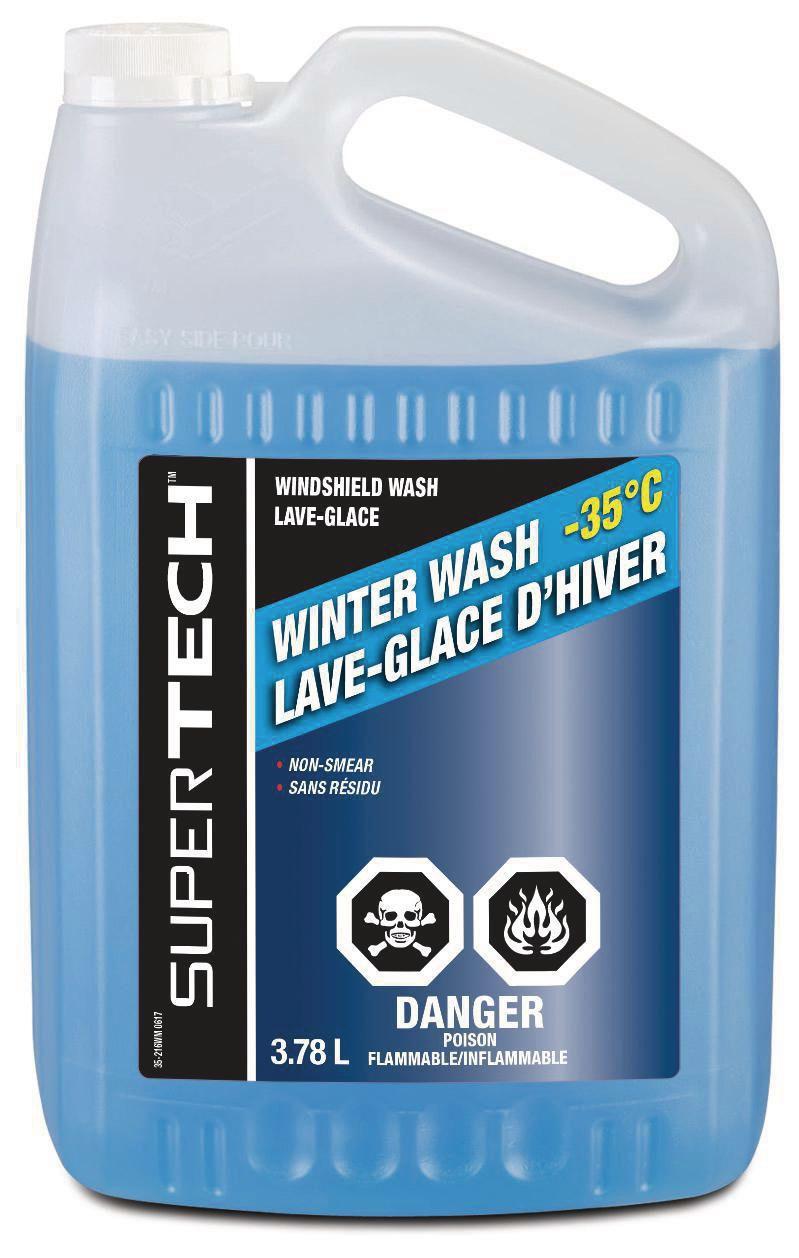 Washer Fluid Walmart : washer, fluid, walmart, SuperTech, Windshield, Washer, Fluid, -35°C, Walmart, Canada
