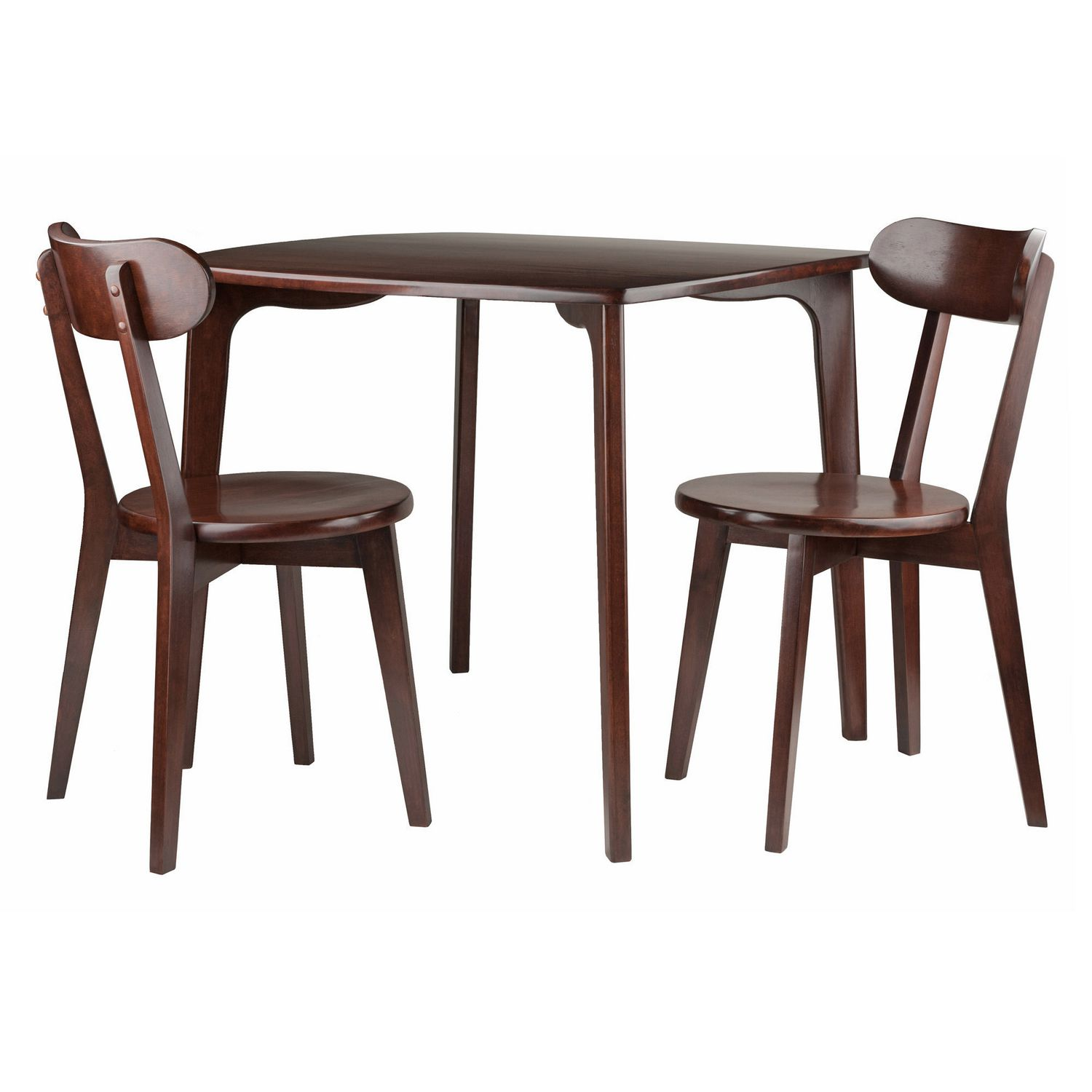 Table With 2 Chairs Pauline 3 Pc Set Dining Table With 2 Chairs