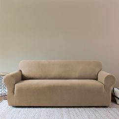 Universal Spandex Chair Covers Canada The Unusual Company Rogate Stretch Sofa Cheap Trendy Black Elastic