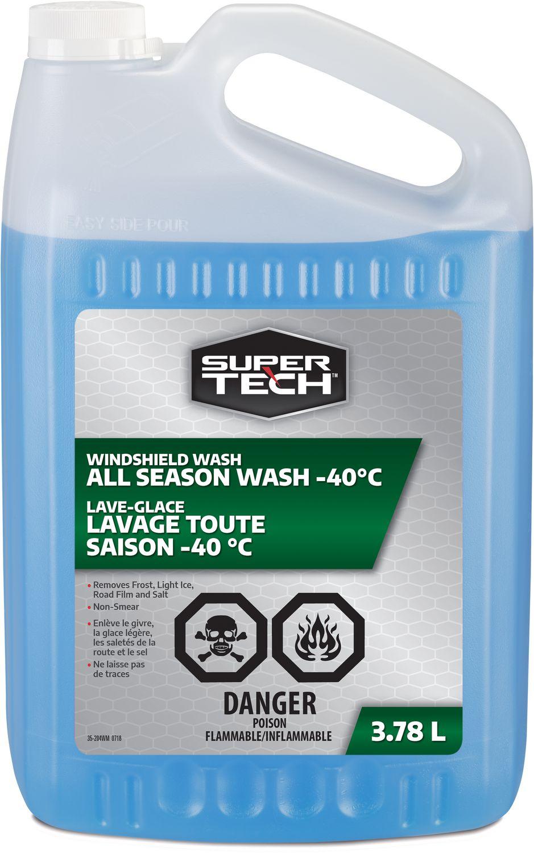 Washer Fluid Walmart : washer, fluid, walmart, SuperTech, Season, Windshield, Washer, Fluid, -40°C, Walmart, Canada