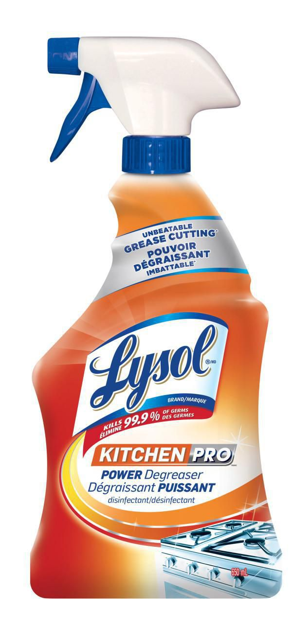 kitchen degreaser modern table and chairs lysol pro power walmart canada image 1 of zoomed