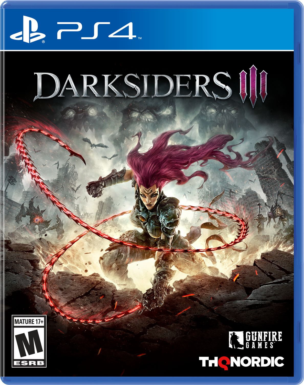 4 Cavaliers De L'apocalypse Darksiders : cavaliers, l'apocalypse, darksiders, Darksiders, (Playstation, Walmart, Canada