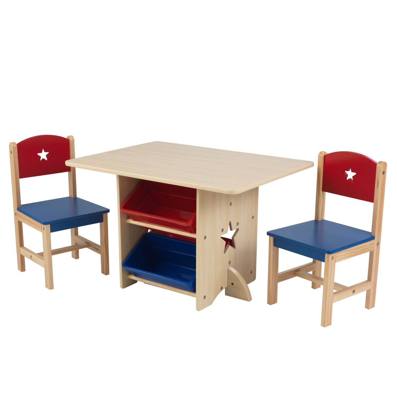 kidkraft star table 2 chair set