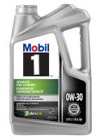 Mobil 1™ Advanced Fuel Economy Full Synthetic Engine Oil ...