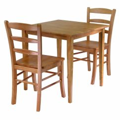 2 Chair Kitchen Table Set Booths For Home Winsome Groveland 3 Piece Dining Square With Chairs 34330 Walmart Canada