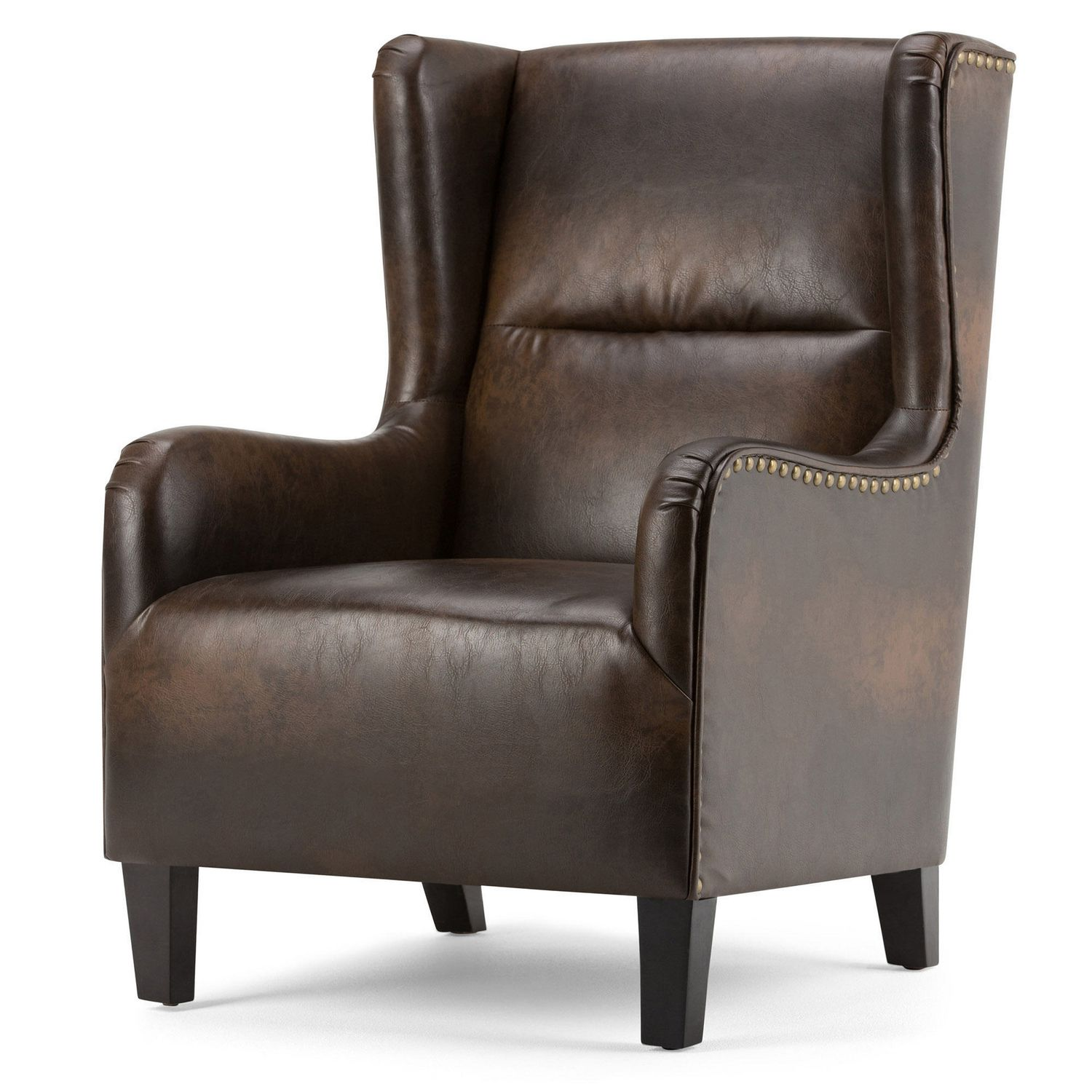 Oversized Wingback Chair Wyndenhall Manford Wingback Chair