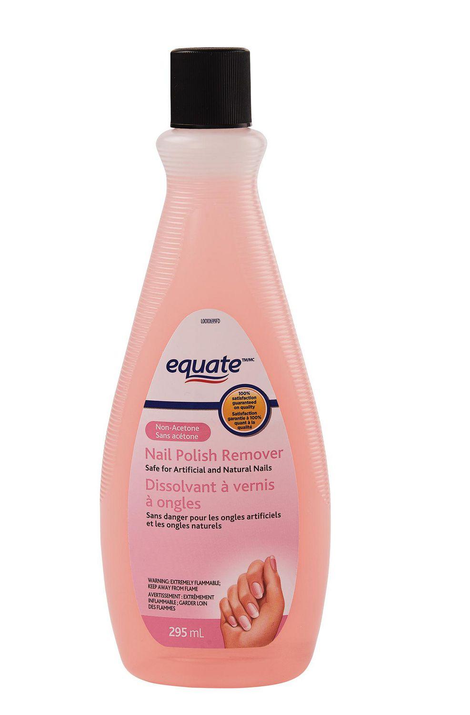 Acetone Vs Non Acetone Nail Polish Remover : acetone, polish, remover, Equate, Non-Acetone, Polish, Remover, Walmart, Canada