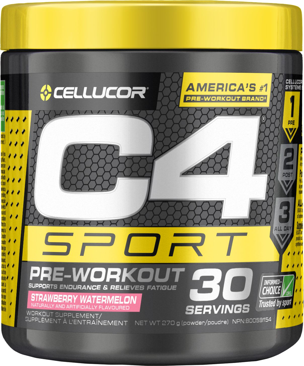 C4 Pre Workout Banned : workout, banned, Sport, Workout, Strawberry, Watermelon, Walmart, Canada