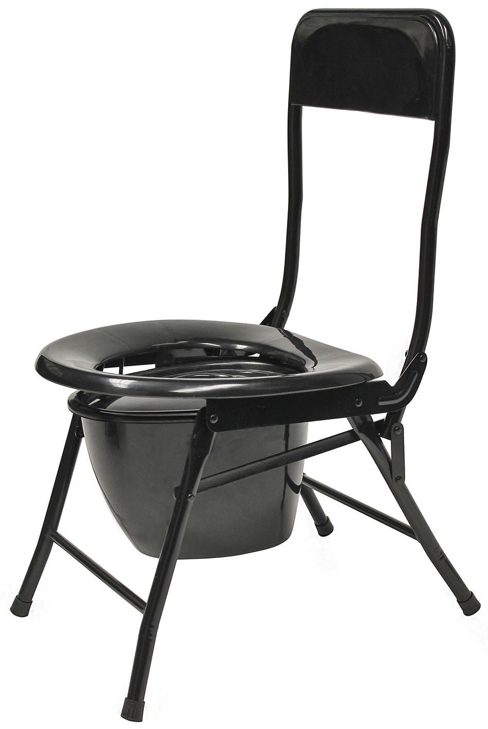 Famous Chair World Famous Folding Portable Toilet Chair