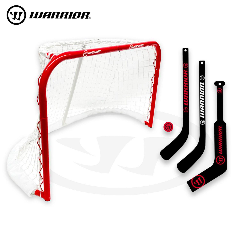 warrior 31 mini pro style hockey goal combo set