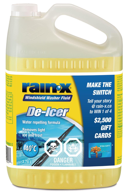 Washer Fluid Walmart : washer, fluid, walmart, Rain-X, De-Icer, Windshield, Fluid, Walmart, Canada