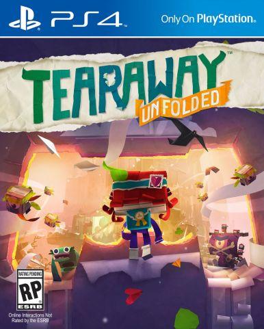 Bildergebnis für Tearaway- unfolded BIld