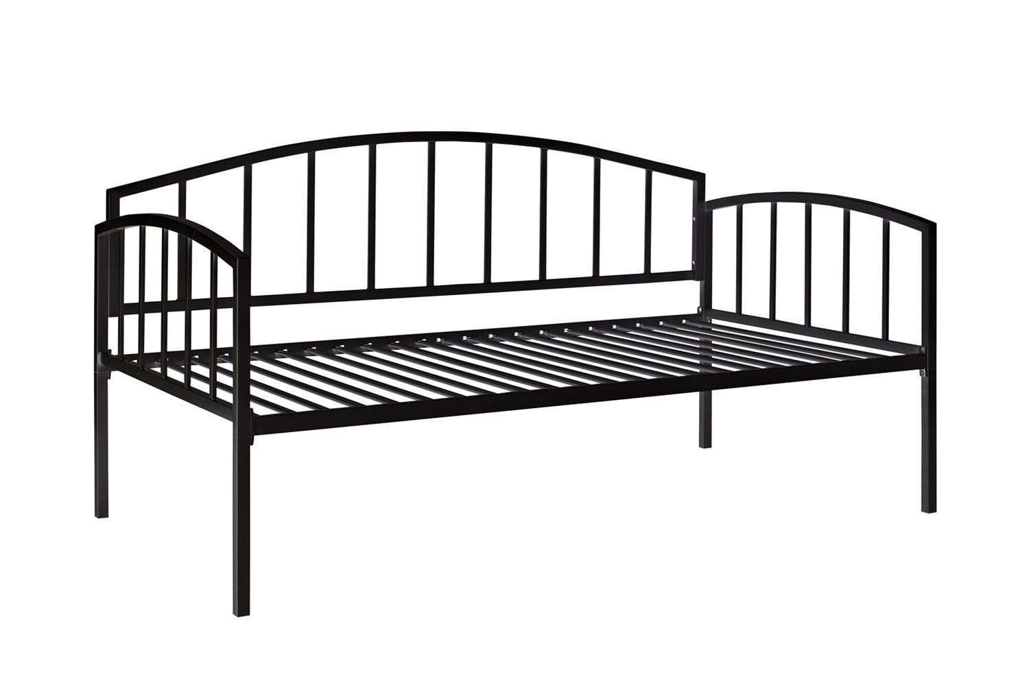 Dhp Ava Collection Black Metal Daybed
