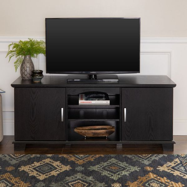Manor Park Traditional Tv Stand With Storage Tv' 66