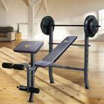 Everlast Ev100wb Olympic Weight Bench Walmart Canada