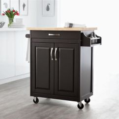 Kitchen Islan Traveling Hometrends Island Cart Walmart Canada